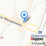 КМД на карте Санкт-Петербурга