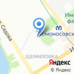 Инфофлот на карте Санкт-Петербурга