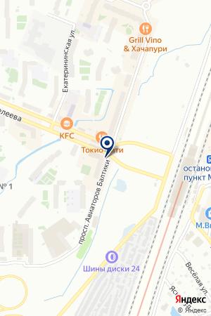 Хорошая связь на карте Мурино