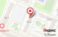Схема проезда до компании Единый центр новостроек Тренд в Новом Девяткино