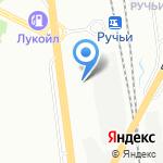 КовроСити на карте Санкт-Петербурга