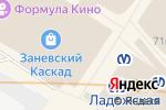 Схема проезда до компании Intersport в Санкт-Петербурге