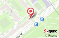 Схема проезда до компании Аллегро в Санкт-Петербурге