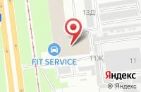 Схема проезда до компании Завод Технического Фарфора «Фаркос-1» в Санкт-Петербурге