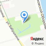 Парк культуры и отдыха им. И.В. Бабушкина на карте Санкт-Петербурга