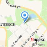 Фонд освобождения на карте Санкт-Петербурга