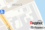 Схема проезда до компании Аколед в Санкт-Петербурге