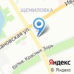 СВ-Суерте на карте Санкт-Петербурга