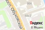 Схема проезда до компании ПожТоргСервис Спб в Санкт-Петербурге