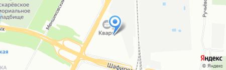 Балтик на карте Санкт-Петербурга