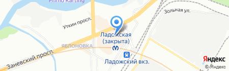 ForMan на карте Санкт-Петербурга
