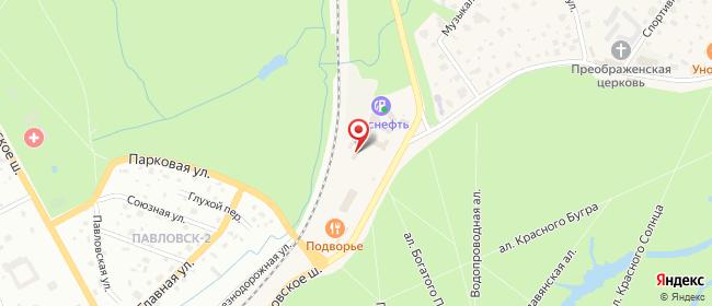 Карта расположения пункта доставки Тярлево Фильтровское в городе Тярлево