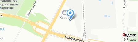 ИНЖЕНЕРСТРОЙ на карте Санкт-Петербурга
