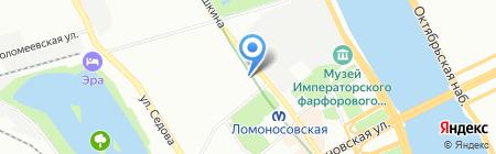 Средняя общеобразовательная школа №331 на карте Санкт-Петербурга