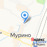 Виктория на карте Санкт-Петербурга