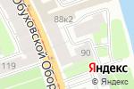 Схема проезда до компании Электроконтакт в Санкт-Петербурге