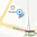 Шоколадный город на карте Санкт-Петербурга