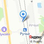 Ручьи на карте Санкт-Петербурга