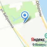 Купидон на карте Санкт-Петербурга