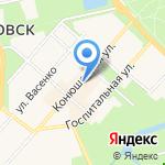 Латерна на карте Санкт-Петербурга