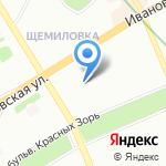 Центральная бухгалтерия на карте Санкт-Петербурга