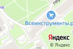 Схема проезда до компании Народная в Санкт-Петербурге