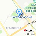 Храм-часовня в честь Преображения Господня на карте Санкт-Петербурга