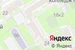 Схема проезда до компании Завод пластиковых окон в Санкт-Петербурге