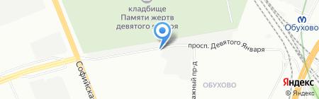 Шиномонтажная мастерская на проспекте 9 Января на карте Санкт-Петербурга
