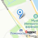 Китти на карте Санкт-Петербурга