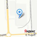 Испытатель на карте Санкт-Петербурга