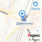 Парикмахерская эконом-класса на карте Санкт-Петербурга