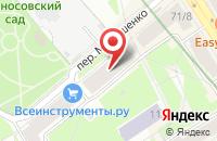 Схема проезда до компании Краб в Санкт-Петербурге