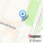 Новоантропшино на карте Санкт-Петербурга