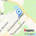 Фея на карте Санкт-Петербурга