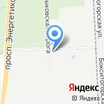 Неско Санкт-Петербург на карте Санкт-Петербурга