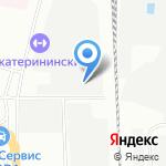 Енот на карте Санкт-Петербурга