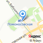 Организация перевозок на карте Санкт-Петербурга
