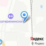 Буборг на карте Санкт-Петербурга