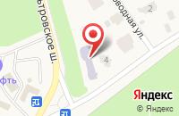 Схема проезда до компании Эрудит в Пушкине