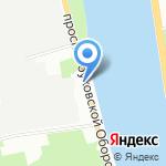 Межрайонный регистрационно-экзаменационный отдел ГИБДД №4 по Невскому району на карте Санкт-Петербурга