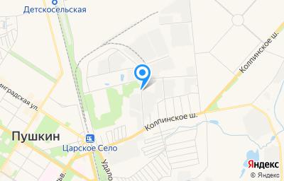 Местоположение на карте пункта техосмотра по адресу г Санкт-Петербург, г Пушкин, ул Автомобильная, д 4 литер а