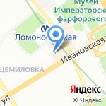 Старт+ на карте Санкт-Петербурга