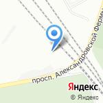 Веста на карте Санкт-Петербурга