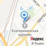 ЛЕДВЕСТ на карте Санкт-Петербурга