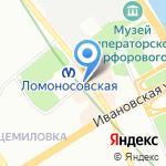 До зарплаты на карте Санкт-Петербурга