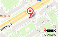 Схема проезда до компании Невская Силовая Компания в Санкт-Петербурге