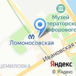 Лиза на карте Санкт-Петербурга