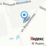 Охта на карте Санкт-Петербурга