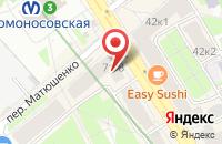 Схема проезда до компании Юпитер Плюс в Санкт-Петербурге